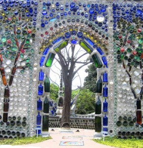 recycling-The-Bottle-Chapel-at-Airlie-Gardens-North-Carolina.